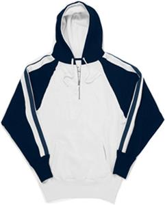 J America Vintage 1/4 Zip Hooded Sweatshirts