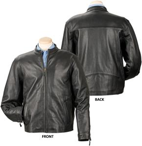 Burk's Bay Cowhide Casual Leather Jacket