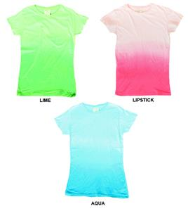 J America Womens Avery Gradient Tee
