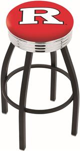 Rutgers University Ribbed Ring Bar Stool