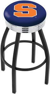 Syracuse University Ribbed Ring Bar Stool