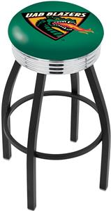 Univ Alabama Birmingham Ribbed Ring Bar Stool