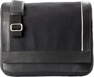 Burk&#39;s Bay Messenger Leather Bag