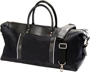 Burk&#39;s Bay Travel Leather Duffel Bag
