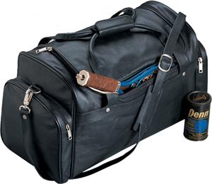 Burk&#39;s Bay Top-Grain Leather Sports Bag