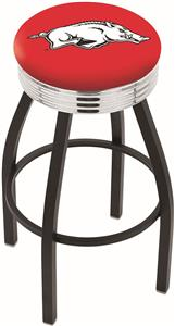 University of Arkansas Ribbed Ring Bar Stool