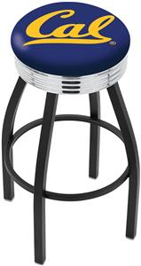 University of California Ribbed Ring Bar Stool