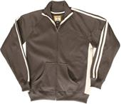 J America Adult Vintage Poly Fleece Track Jackets