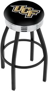 University Central Florida Ribbed Ring Bar Stool