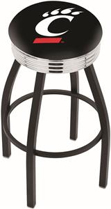 University of Cincinnati Ribbed Ring Bar Stool