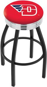 University of Dayton Ribbed Ring Bar Stool