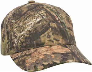 Classic Twill Camo with Hook/Loop Tape Closure Cap