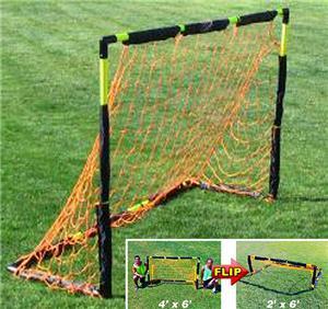 Soccer Innovations Portable 4'x6' PVC Flip Goals