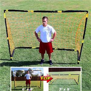 Soccer Innovations Portable 6'x9' PVC Flip Goals