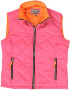 J America Womens Patty Puffy Vest