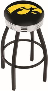 University of Iowa Ribbed Ring Bar Stool