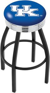 University of Kentucky UK Ribbed Ring Bar Stool