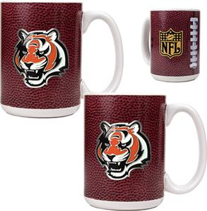NFL Cincinnati Bengals Gameball Mug (Set of 2)