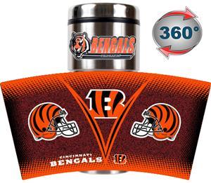 NFL Cincinnati Bengals Tumbler (Logo & Team Name)
