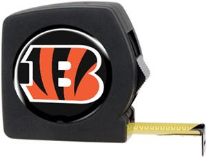 NFL Cincinnati Bengals 25' Tape Measure with Logo