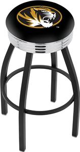 University of Missouri Ribbed Ring Bar Stool