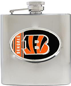 NFL Cincinnati Bengals 6oz Stainless Steel Flask