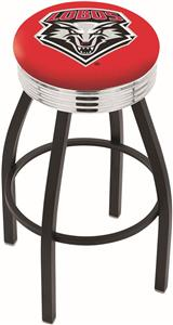 University of New Mexico Ribbed Ring Bar Stool