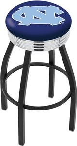 University of North Carolina Ribbed Ring Bar Stool