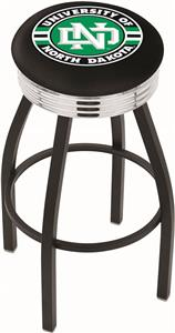 University of North Dakota Ribbed Ring Bar Stool