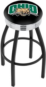 Ohio University Ribbed Ring Bar Stool