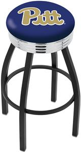University of Pittsburgh Ribbed Ring Bar Stool