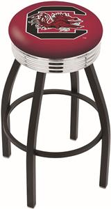 University of South Carolina Ribbed Ring Bar Stool