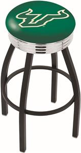 University of South Florida Ribbed Ring Bar Stool