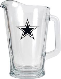 NFL Dallas Cowboys 1/2 Gallon Glass Pitcher