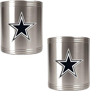NFL Dallas Cowboys Stainless Steel Can Holders