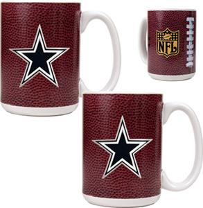 NFL Dallas Cowboys Gameball Mug (Set of 2)