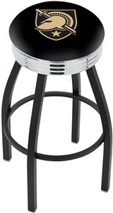 US Military Academy Ribbed Ring Bar Stool