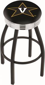 Vanderbilt University Ribbed Ring Bar Stool