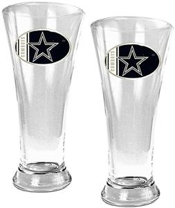 NFL Dallas Cowboys 2 Piece Pilsner Glass Set