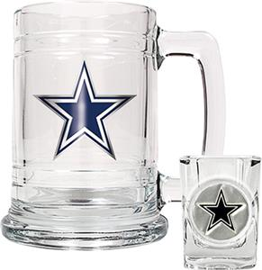 NFL Dallas Cowboys Boilermaker Gift Set