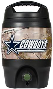 NFL Dallas Cowboys 1 gal Realtree Tailgate Jug