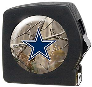 NFL Dallas Cowboys 25' RealTree Tape Measure