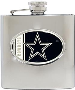 NFL Dallas Cowboys 6oz Stainless Steel Flask