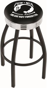 Holland POW/MIA Ribbed Ring Bar Stool