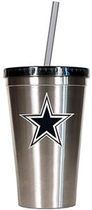 NFL Dallas Cowboys 16oz Tumbler with Straw