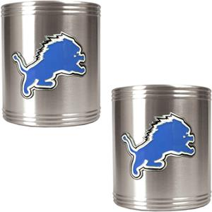 NFL Detroit Lions Stainless Steel Can Holders