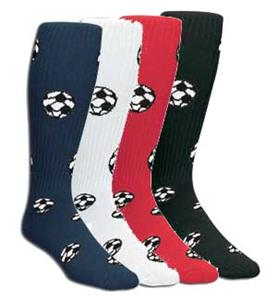 Red Lion Soccer Ball Socks