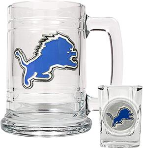 NFL Detroit Lions Boilermaker Gift Set