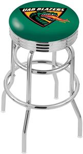 Univ Alabama Birmingham Ribbed Double-Ring Stool