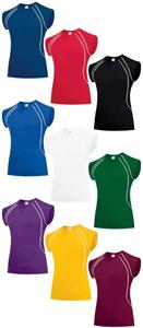 Women's Force Spandex Volleyball Jerseys- Uniforms